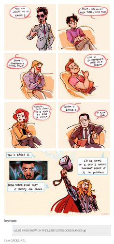 The Avengers Meets Parks and Recreation | by hoursago @ Tumblr.com // #marvel