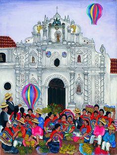 Magarito Chex Icu Mayan artist from Guatemala