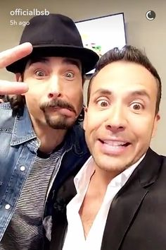 Kevin and Howie