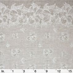 NATURAL-IVORY LINEN FABRIC