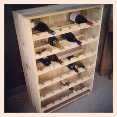 Mistress stuff - (page - Mistress Potato Vin Palette, Palette Diy, Wine Bottle Rack, Wine Glass Rack, Craft Armoire, Baby Toy Storage, Wrapping Paper Storage, Hanging Wine Rack, Home Wine Cellars
