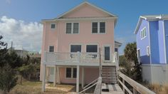 vacation rentals to book online direct from owner in . Vacation rentals available for short and long term stay on Vrbo. Parking Spots, Kure Beach, Carolina Beach, House Rentals, Ideal Home, Beach House, Condo, Shed, Moon
