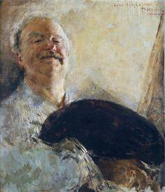 Antonio Mancini (Italian painter) 1852- 1930 Self-Portrait, ca. 1910 oil on canvas 60 x 72 cm