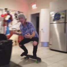 alan ashby. some one help I cant stop watching this gif... too cute