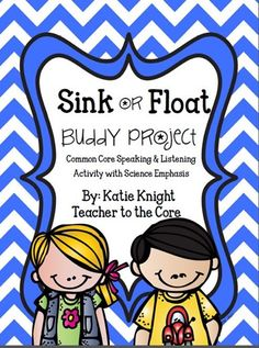 Primary aged students discover what will sink or float with this amazing activity! So fun !!!