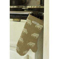 Dairy Cow by Emily Bond #kitchenfabrics