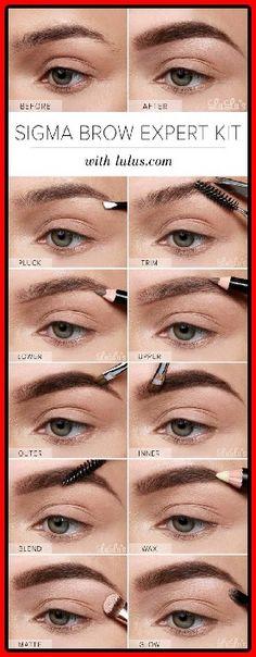 15 Wege, um die perfekten Augenbrauen zu haben   #anfanger #augenbrauen #haben #perfekten #tutorials
