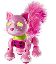NEW Spin Master Zoomer Meowzies Interactive Pink Cat Kitten ‑ Arista Yellow Cat, Pink Cat, Christmas Toys For Girls, Cat Crying, Interactive Toys, All Toys, Kids Store, Led, Tricks