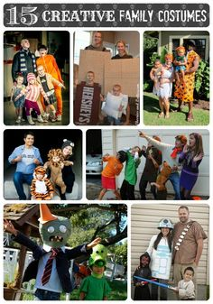 15 Creative Family Costumes #halloween my friend and her family are s'mores!!!