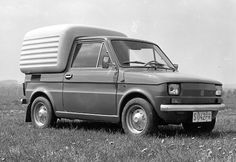 Maluch could be redesigned to suit all cargo needs, Fiat Bombel, photo courtesy of Fiat 500, Fiat Models, Fiat Abarth, Concept Cars, Cars Motorcycles, Porsche, Automobile, Trucks, Vehicles