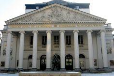 BRUSSEL - Royal opera house - Theatre Royal de la Monnaie Brussel