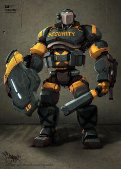 Robot Security by ~thaigraff on deviantART