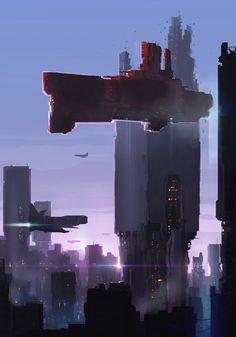 Random Tower by sketchboook