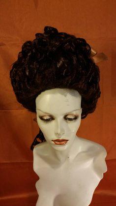Dama Wig Rococo Baroques Rokoko castana1770 Perruque