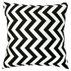 I pinned this Sedgwick Pillow in Black - Set of 2 from the Zig Zag Pattern & Pop event at Joss and Main!