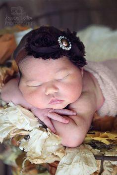 Baby headband. Baby girl headband. Baby photo prop. Baby girl. Baby headband. Fall Headband Brown Baby Headbands by BabyliciousDivas on Etsy, $7.25