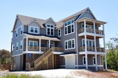 Take Five | Nags Head Rentals | Village Realty. 4 bedrooms, 3 full baths, 2 half baths. Elevator, pool, WiFi. Life goes by fast...so Take Five! Come enjoy this brand new, four bedroom, oceanside home. Beautifully decorated, your own private pool, elevator, game room with shuffleboard, and just a quick walk to the beach. TVs, WiFi, screened porch and enjoy the view of the ocean from the front deck.