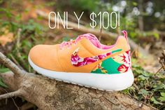 cheap nike roshe run online sale for 2016 new styles by manufactories.buy your cheap nike free run shoes with. Discount Nike Shoes, Nike Shoes Cheap, Nike Free Shoes, Nike Shoes Outlet, Running Shoes Nike, Cheap Nike, Nike Floral, Floral Nikes, Nike Roshe Run