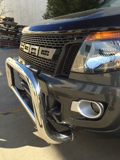 Front Black Grill