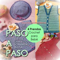 Patrones en español de prendas tejidas para bebe