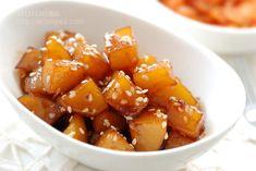 韓國小菜。醬煮馬鈴薯감자조림 | 小小米桶