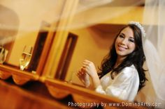 Beautiful #bride getting ready... #Bridal #Portrait by #DominoArts #Photography (www.DominoArts.com)