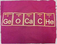 Geocache Periodic Table