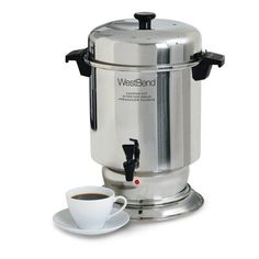 West Bend, Coffee Filters, Small Appliances, Urn, Brewing, Cool Things To Buy, Coffee Maker, Stainless Steel, Construction