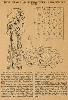 Home Sewing Tips from the 1920s - Using Tucks to Add Chic to... | The Midvale Cottage Post | Bloglovin'