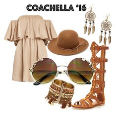 """""""Coachella baby"""" by iamstyle86 ❤ liked on Polyvore featuring KG Kurt Geiger, RHYTHM and Boohoo"""