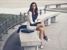"Indian Actor Deepika Padukone Turns Designer, co creates Van Heusen Woman's ""Limited Edition"" Collection http://www.vanheusenindia.com/limitededition/"