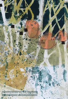 Working backwards as a creative process — Bobbi Baugh Studio Abstract Landscape, Abstract Art, Collage Design, Collage Ideas, Collages, Gelli Printing, Collage Art Mixed Media, Art Portfolio, New Art