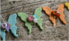 Polymer clay butterfly by Zubiju - Spring Trinkets