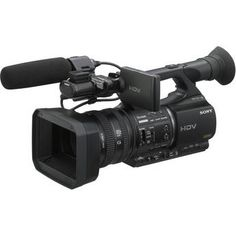 Sony HVR-Z5U Professional HDV Camcorder: Field Equipment used by our media students