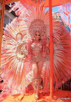 Rosario Mayela, Calle Arriba de Las Tablas 2016. Culeco de Domingo de Carnaval.