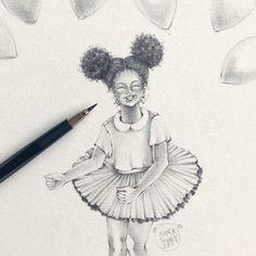 LittleGirl . . . #illustration #pencil #pencilart #pencilillustration #fashionillustration #art #girl #littlegirl #girlsday #croqui #sketch #sketchbook #fashion #ilustração #arte #desenho #art_we_inspire #artstagram #instaartist #watercolor #talens #talenswatercolor #aquarela