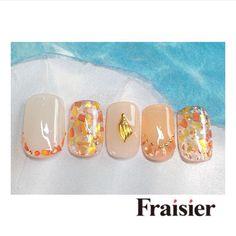 ネイル Cute Nail Art, Cute Nails, Kawaii Nails, Square Nails, Cute Nail Designs, Nails Inspiration, Coffin Nails, Summer Nails, Nail Colors