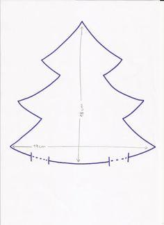 Patchwork en Casa - Anna&Patchwork: Tutorial: Árbol de Navidad