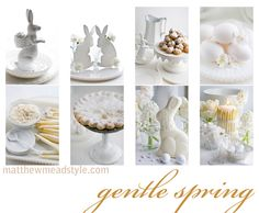 White Easter ~ this is so beautiful!