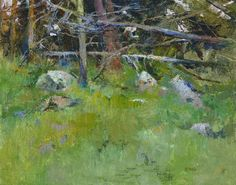 """Woods Interior, Point Lobos"" by Albert Handell OPAM"