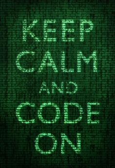 Keep Calm and Code On Poster Posters from AllPosters.com
