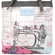 This gorgeous & Sew On Tote Bag by Disaster Designs features wonderful retro & vintage style iconography and beautifully compliments the other items in the & Sew On collection.