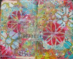 Frieda Oxenham: The Stencilfied Journal Prompt 6
