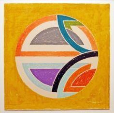リトグラフ - Frank Stella - Sinjerli Variation Squared With Colored Ground 1A