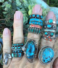 Hippie Rings, Hippie Jewelry, Boho Rings, Cute Jewelry, Hippie Accessories, Vintage Turquoise Jewelry, Turquoise Bracelet, Mens Turquoise Rings, Turquoise Wedding Rings