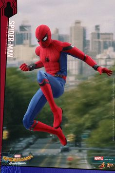 1/6 Scale Spider-Man Homecoming Figure (Regular Version) by Hot Toys