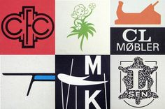 These logos from the 1960s and 1970s are just a few examples of how, as in other fields, clean forms and well-considered elements dominated graphic design in Scandinavia. #scandinavian #design