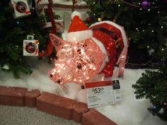 Christmas pig!!