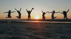 Summer feelings sun happy friends