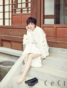 Japanese actress Juri Ueno ceci magazine november 2015 photoshoot fashion